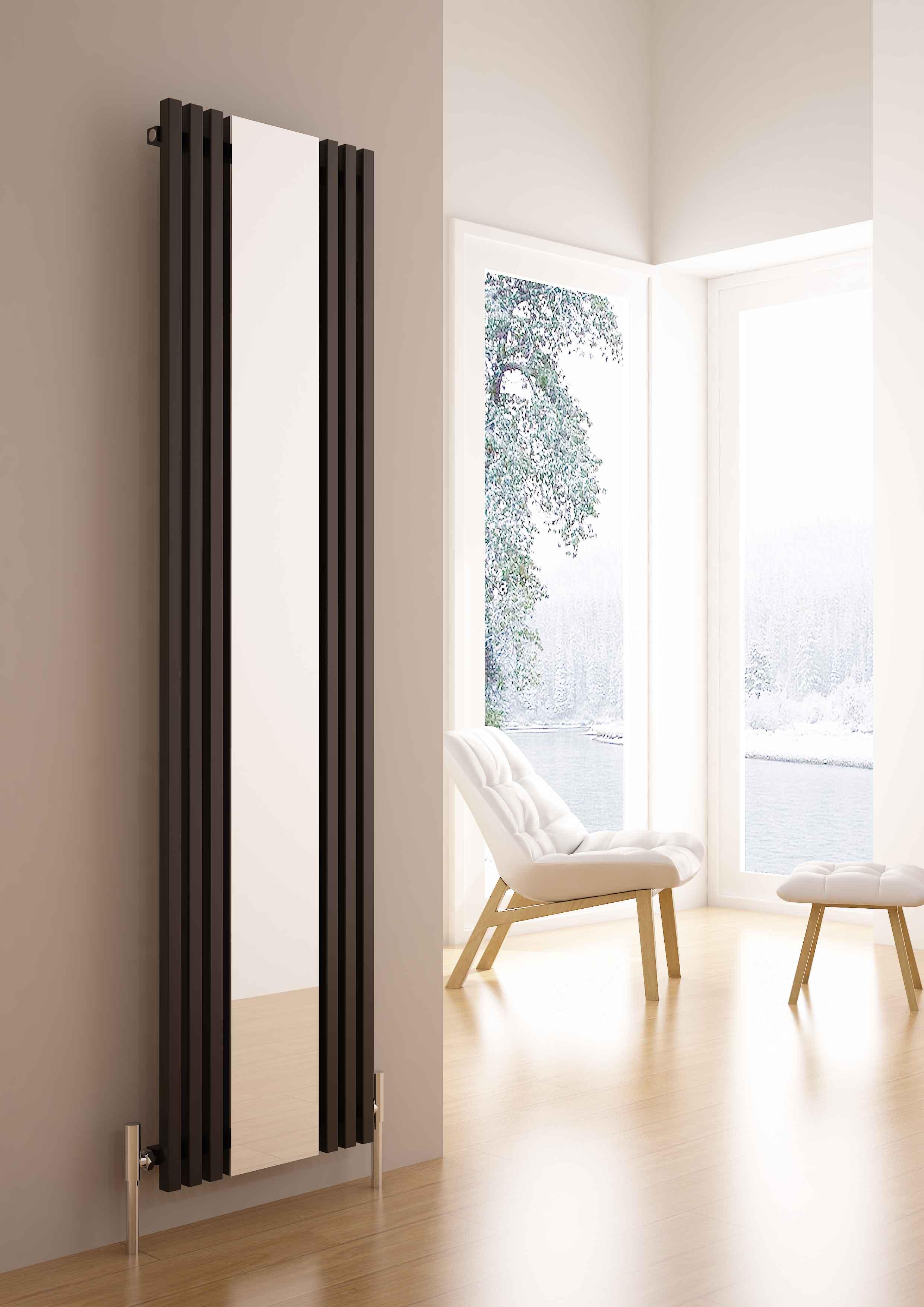 Sophia mirror radiator carisa aluminium designer radiators for Mirror radiator
