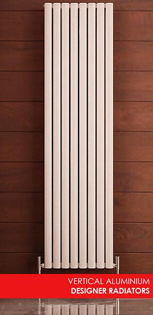 Vertical Aluminium Designer Radiators